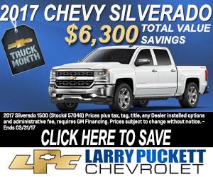 Larry Puckett Chevrolet Automotive Marketing Paar Media